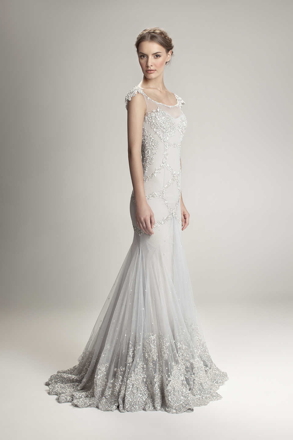 Hamda al fahim autumn fall collection the rabbit hole for 1920 style wedding dress