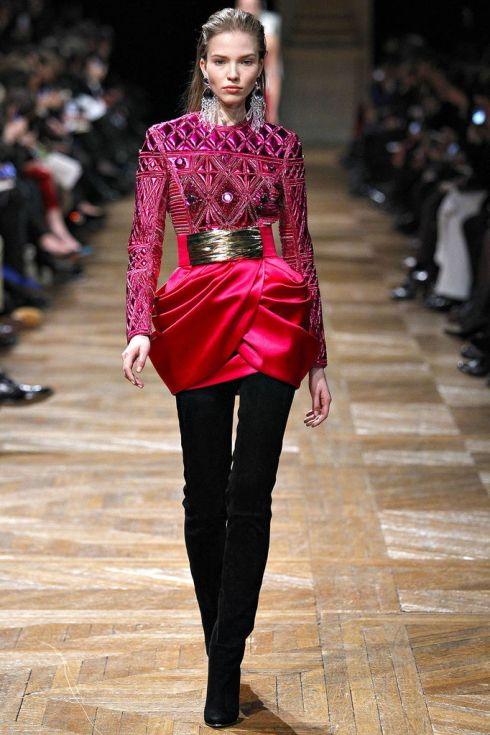 BALMAIN_2013_2014_fall_winter_womenswear_collect-1